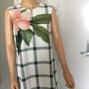TED BAKER London Floral Shift Dress M New